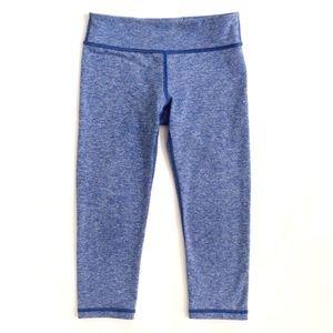 Lululemon's Ivivva Heather Blue Capri Leggings 10